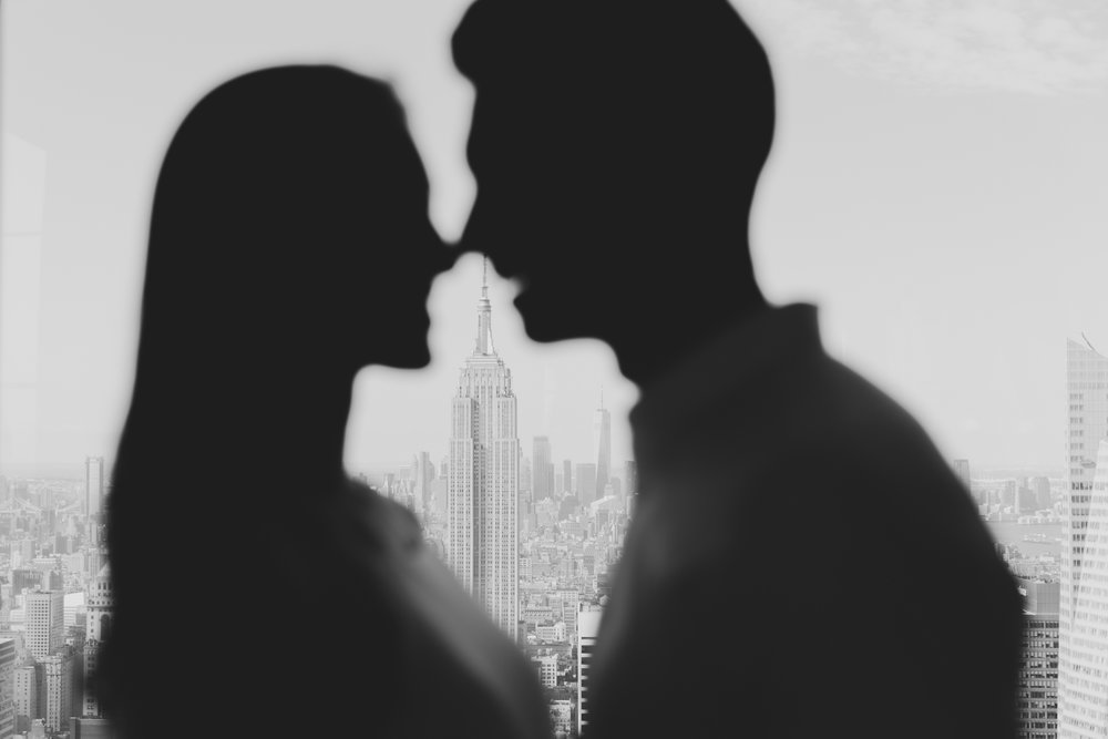 creative nyc engagement photography