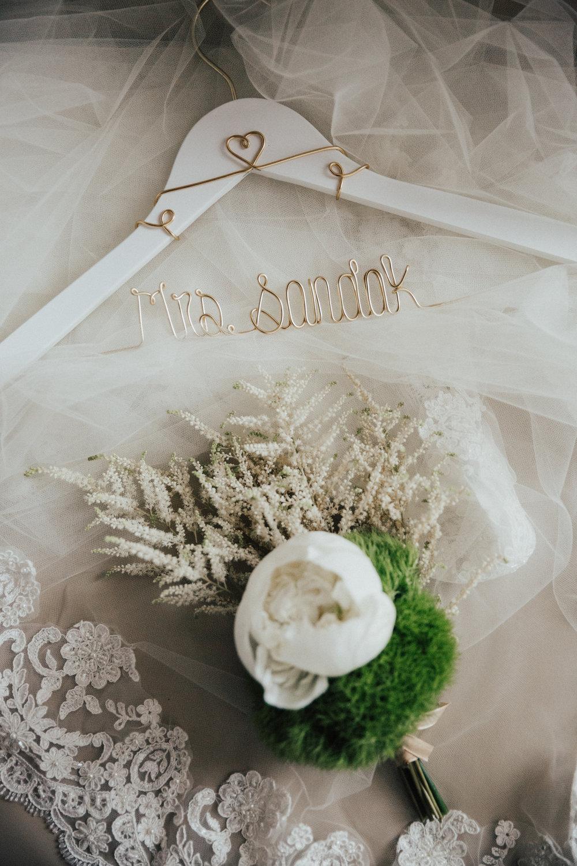 bohemian unique wedding bouquet