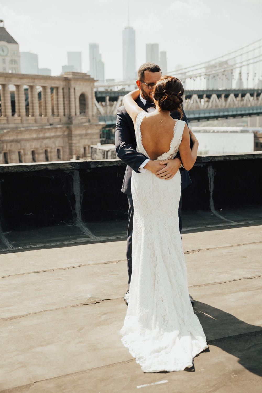 dumbo rooftop elopement