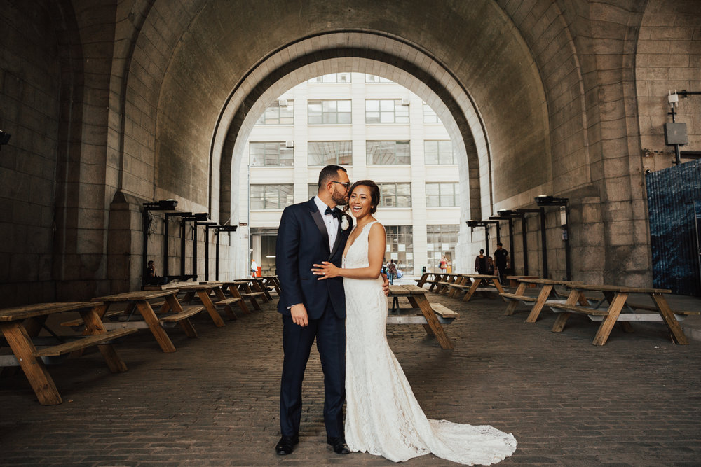 Metropolitan building wedding