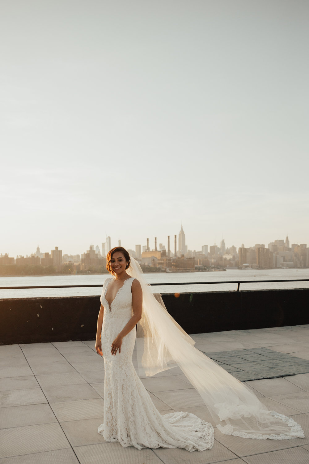 Fine art NYC wedding photography