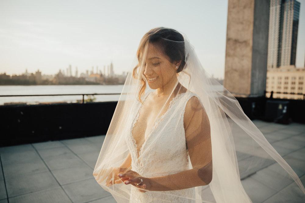 Boho modern wedding new york