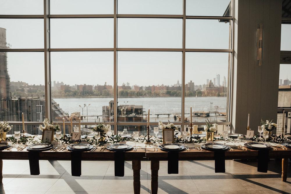 loft style wedding new york