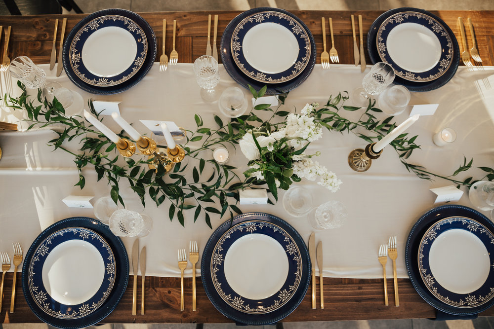 modern boho chic wedding decor