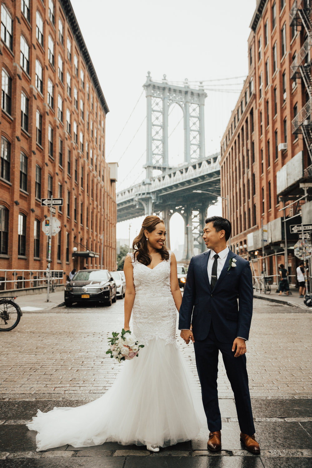 dumbo rainy day elopement