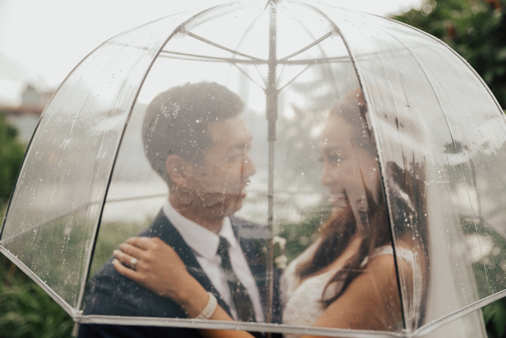 nyc rainy elopement