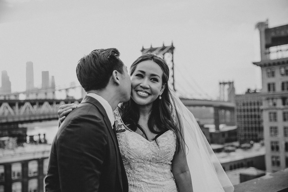 NYC creative wedding photographer