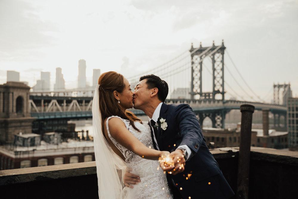 sparkler wedding nyc