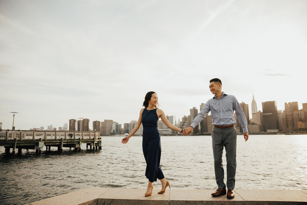 gantry state park engagement photography