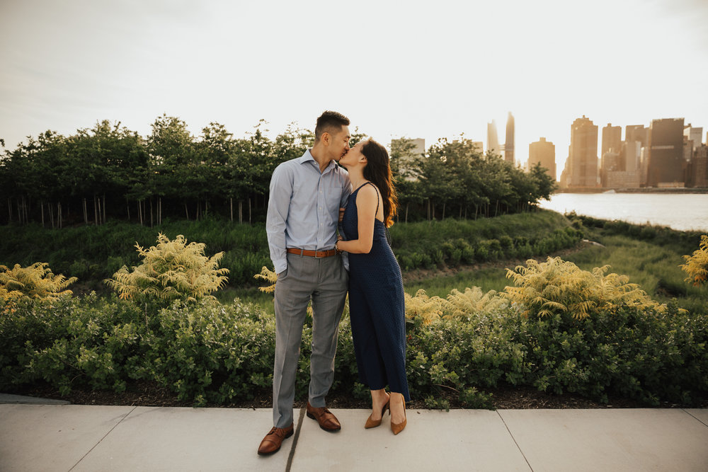 New York Romantic engagement photography