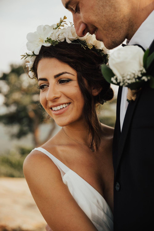 modern, laid back bride