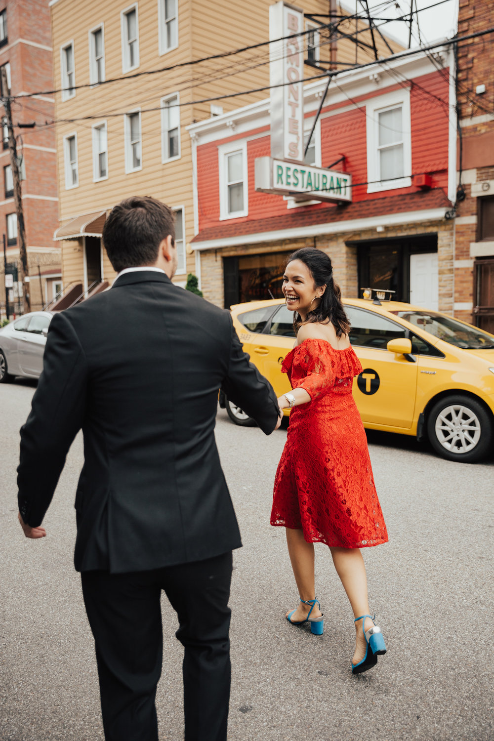 nyc creative engagement shoot