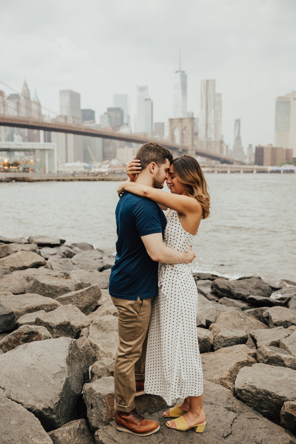 NYC romantic wedding photography