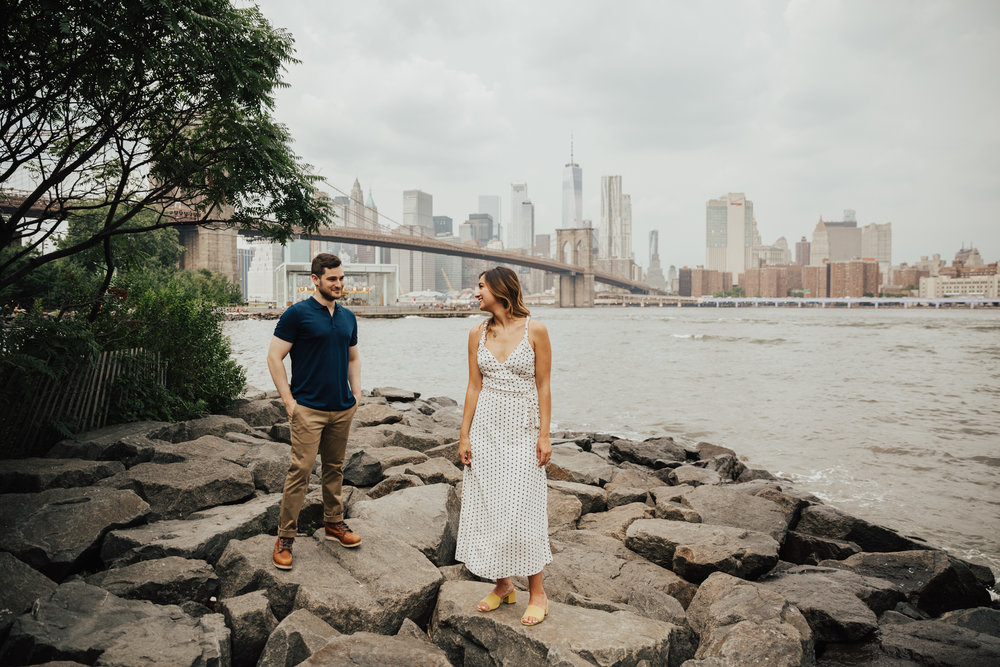 brooklyn romantic intimate wedding photographer