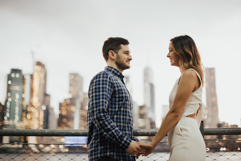 dumbo brooklyn engagement