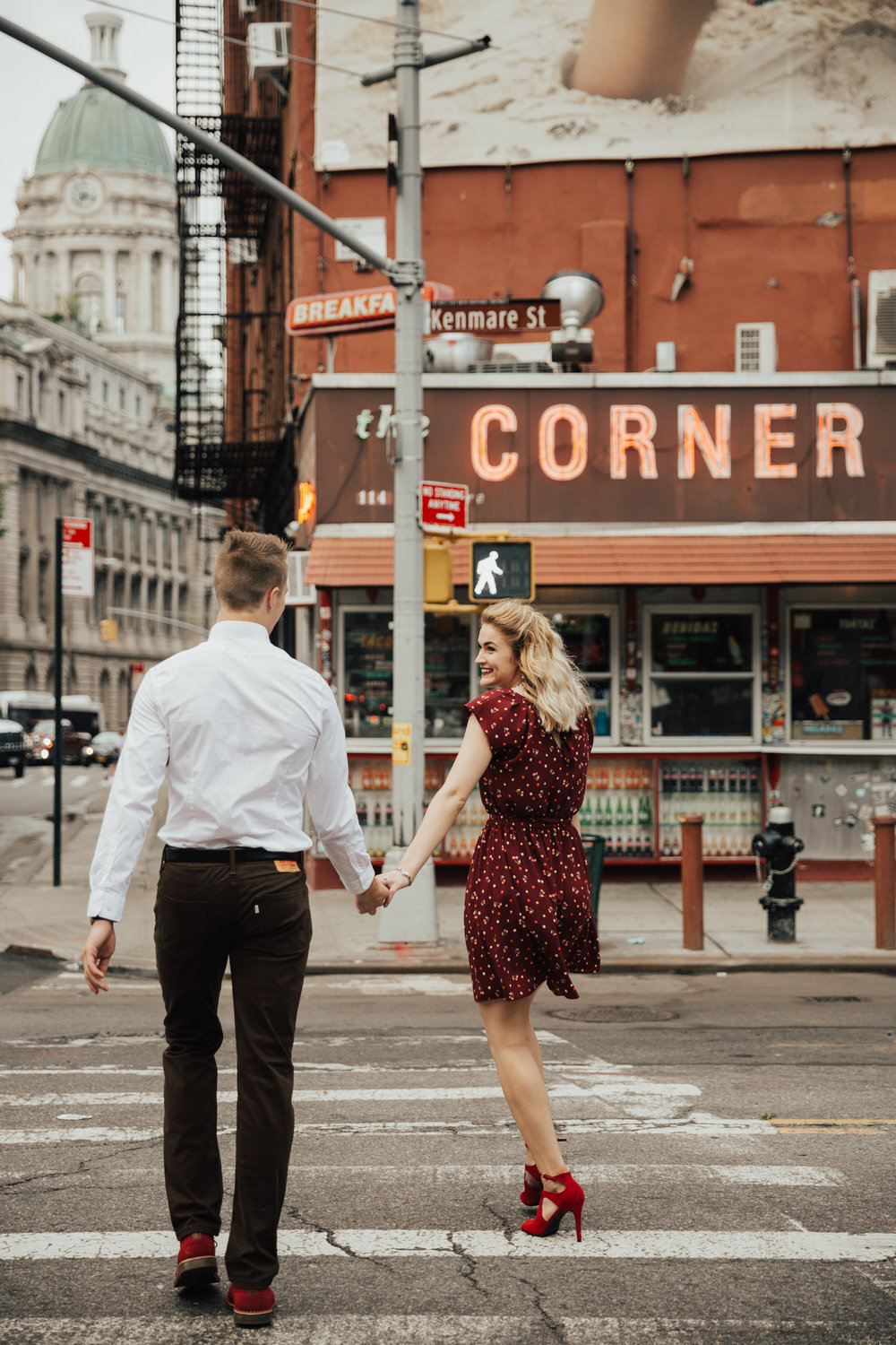 soho engagement photography