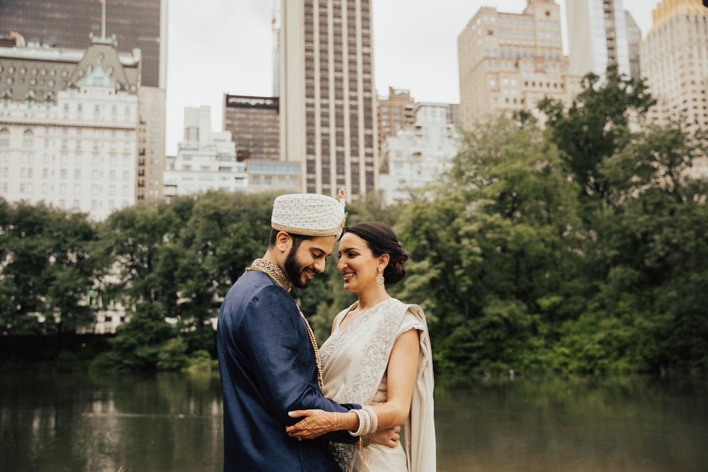 modern indian wedding in nyc