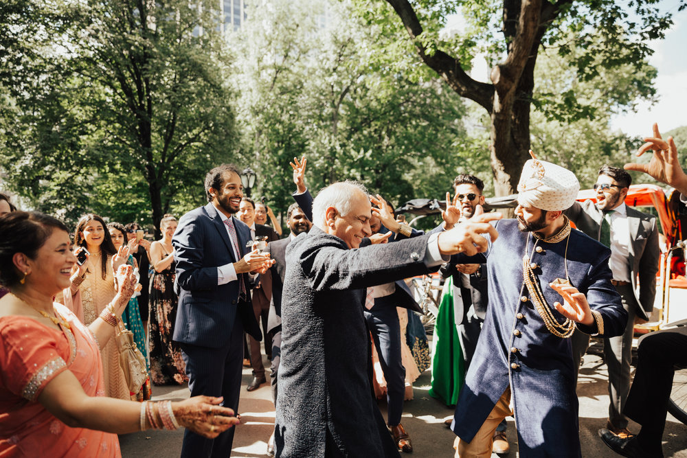 indian baraat for indian wedding nyc