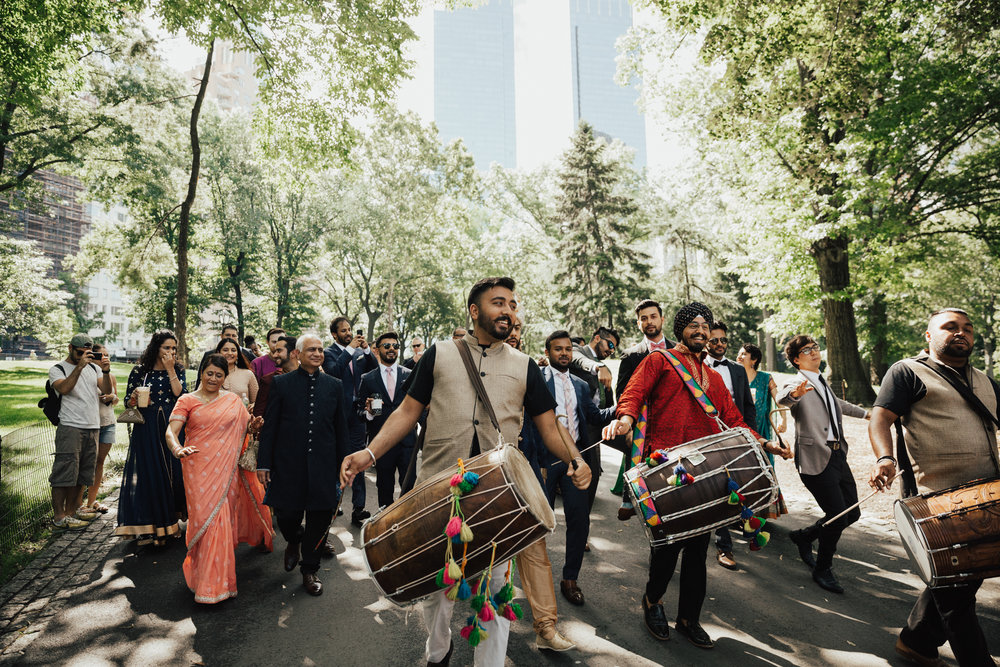 indian baraat indian wedding nyc