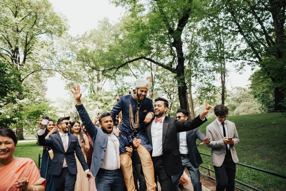 indian baraat wedding nyc