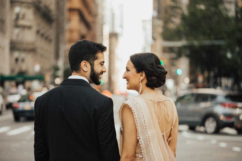 modern indian wed