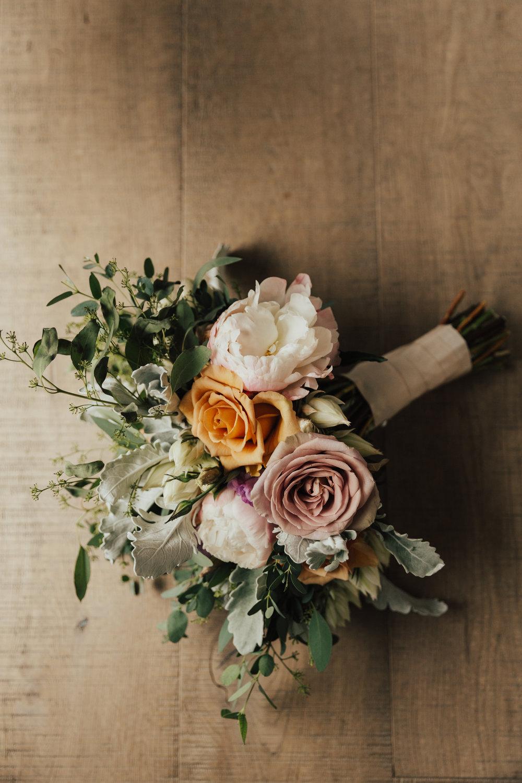 Anthony Brownie wedding bouquet