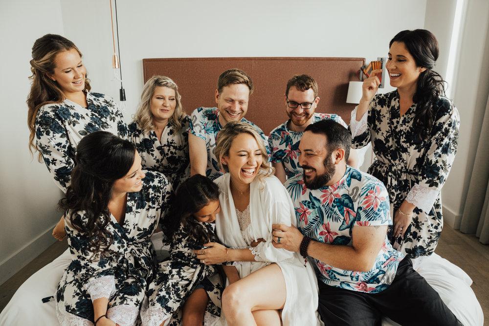 bridesmaids bridesmen mixed bridal party
