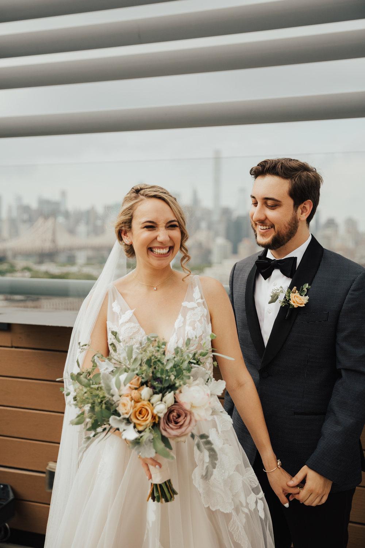 nyc boho romantic wedding