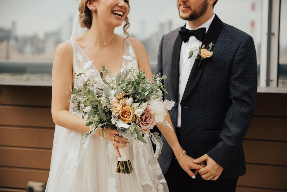 nyc romantic wedding