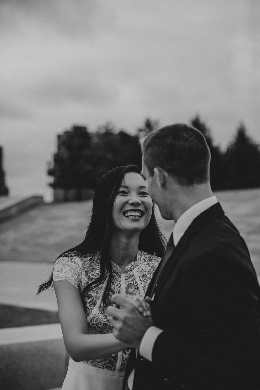 happy wedding moments