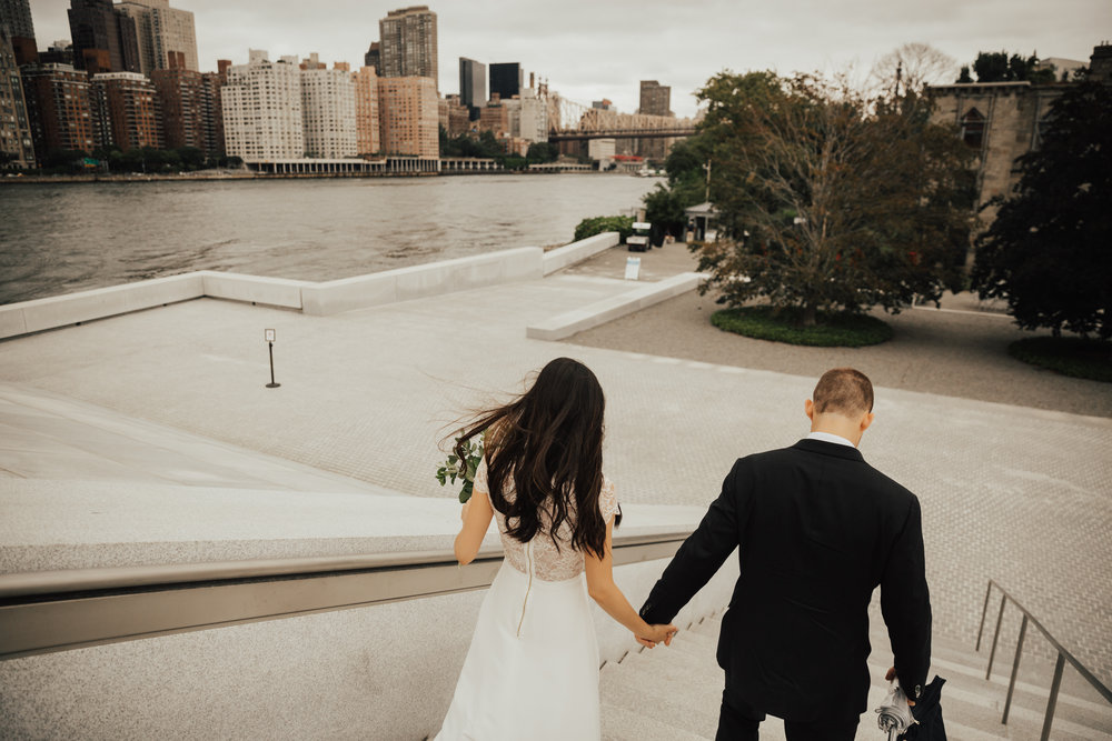 nyc intimate wedding elopement