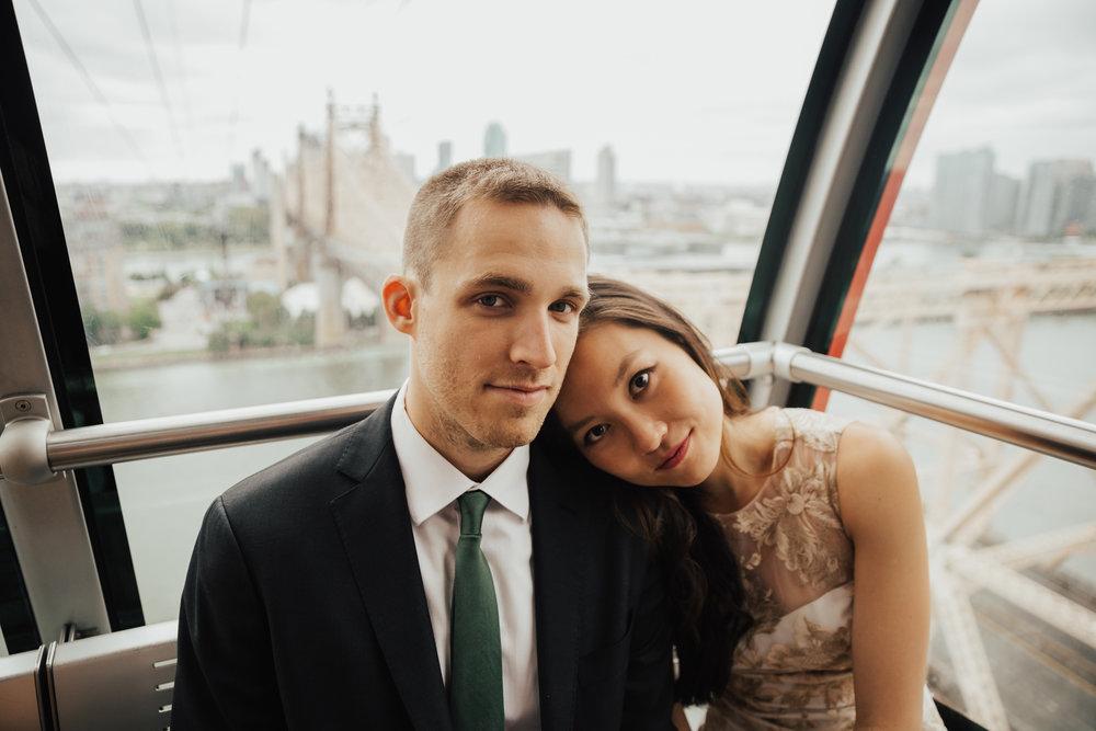 roosevelt island tram wedding