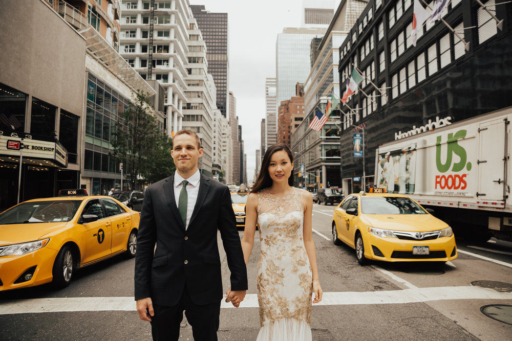 cool new york city elopement