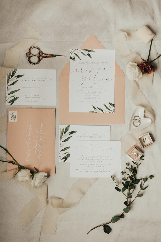getting ready details wedding