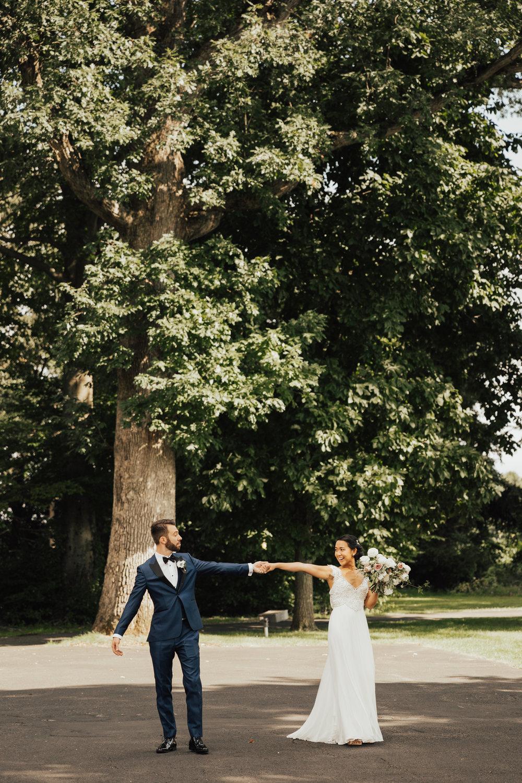 boho modern wedding