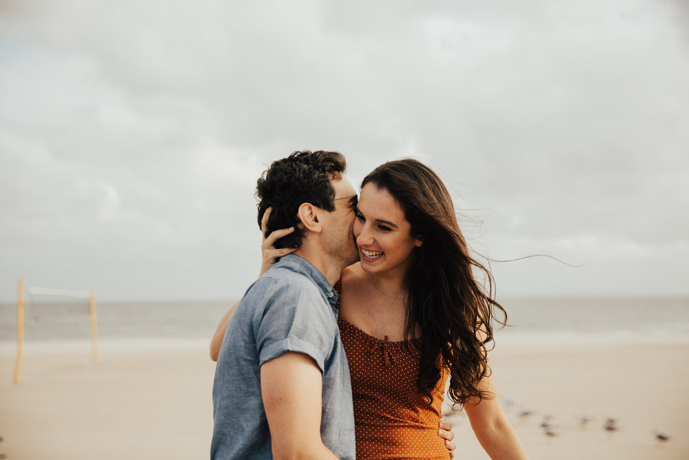 Intimate summer elopement