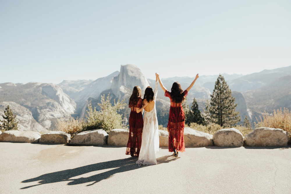 small intimate california wedding
