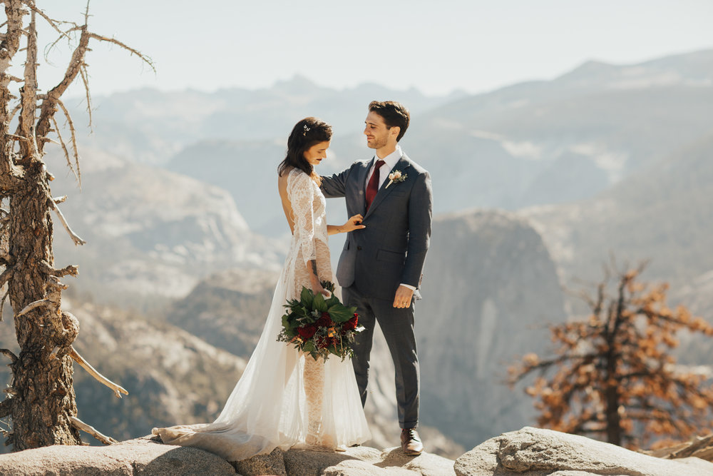 summer wedding yosemite