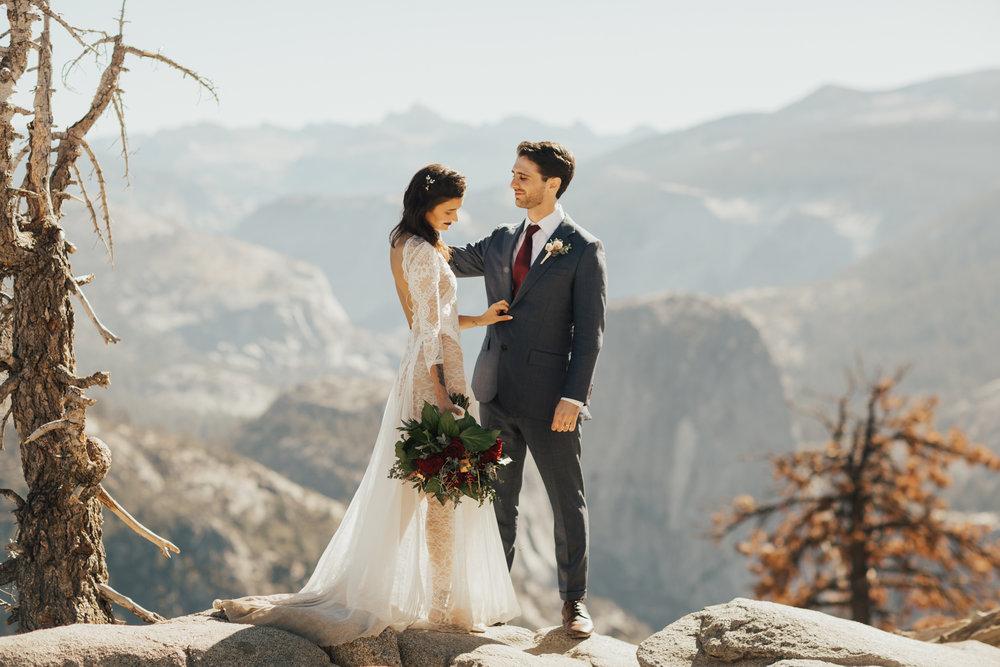 summer wedding yosemite
