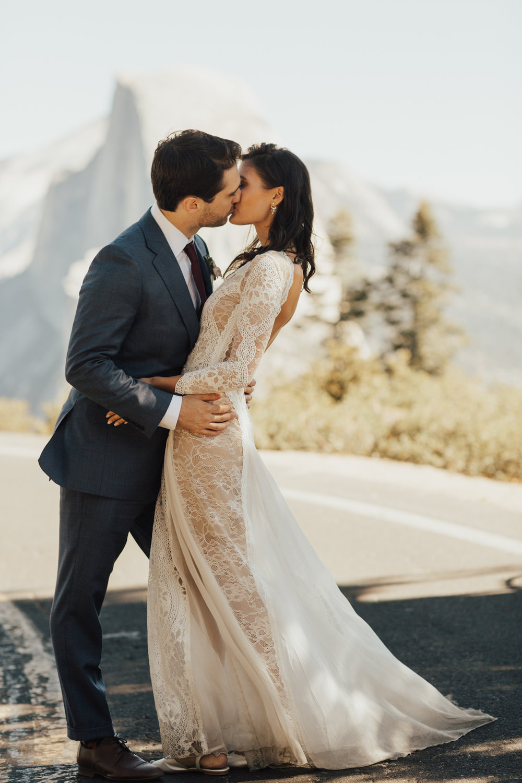 Epic location wedding