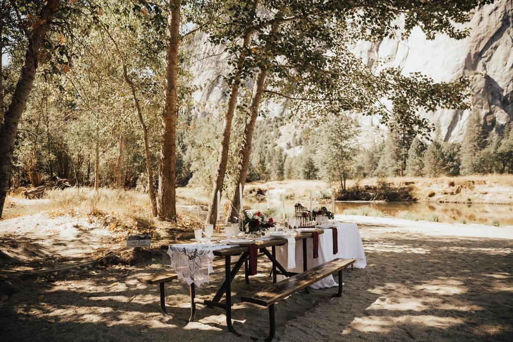 yosemite valley wedding