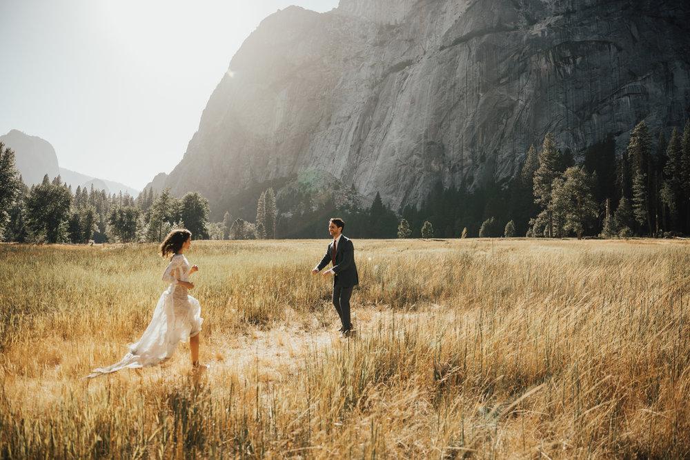 NYC romantic passionate wedding photography