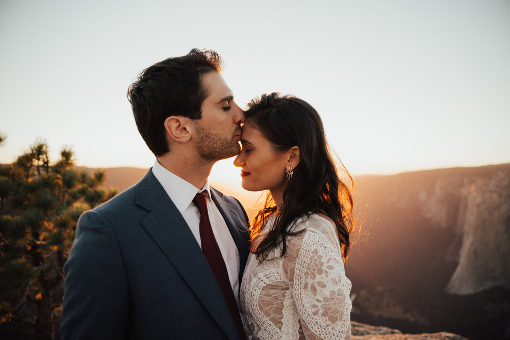 Yosemite Taft Point Elopement Photography