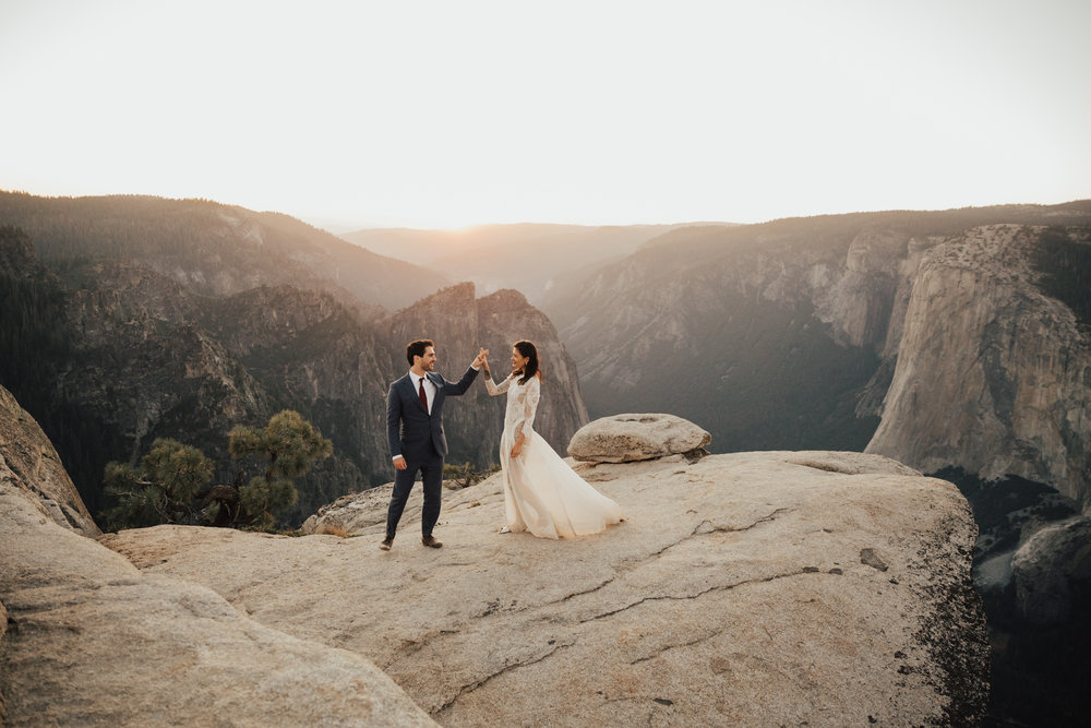 ADVENTURE ELOPEMENT IN YOSEMITE NATIONAL PARK