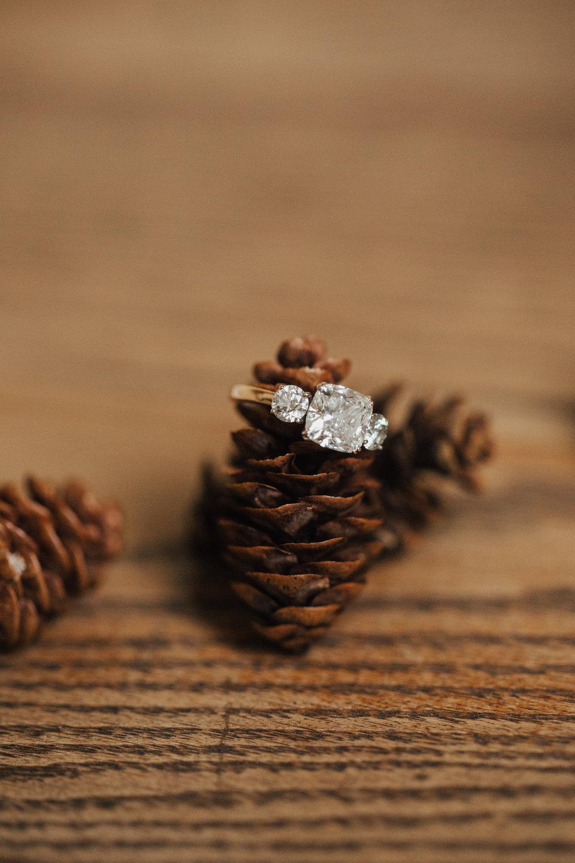 unique wedding ring photo ideas