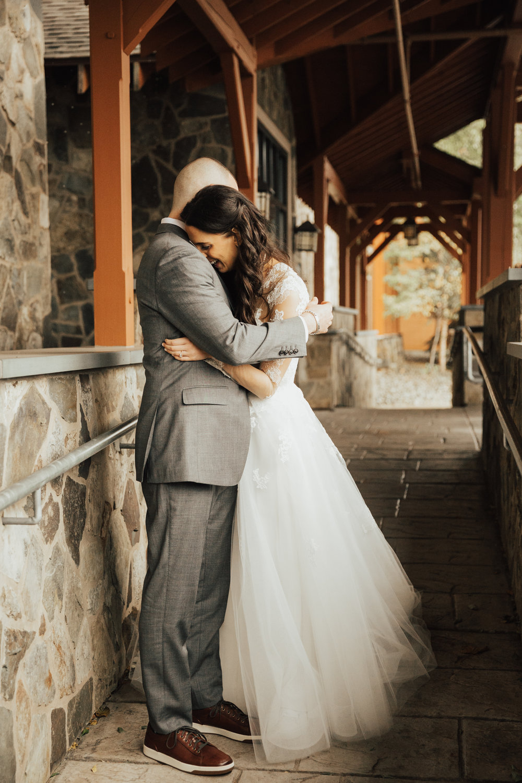 bride and groom adventure