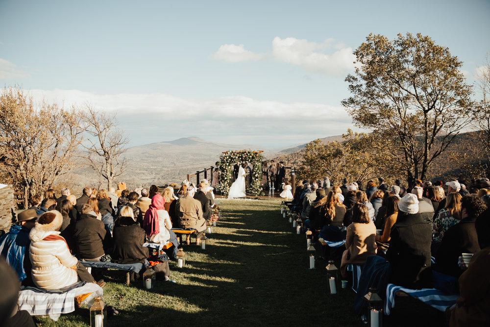 new york mountain wedding