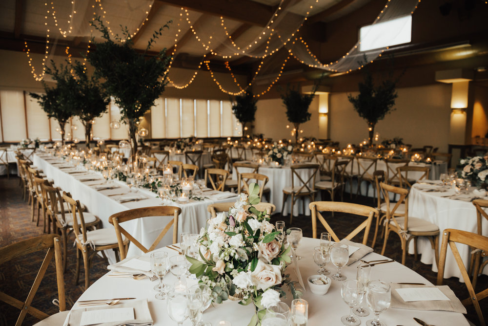 romantic boho wedding decor