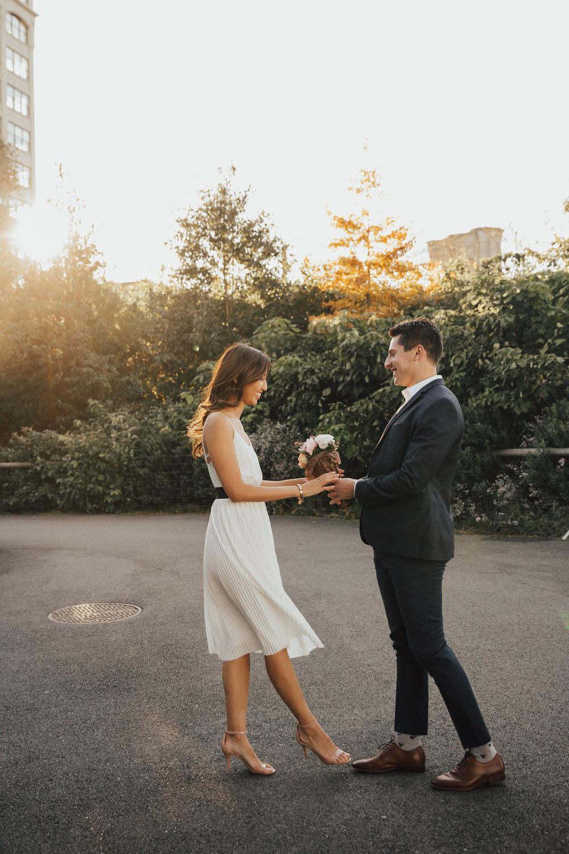 romantic new york wedding photographer