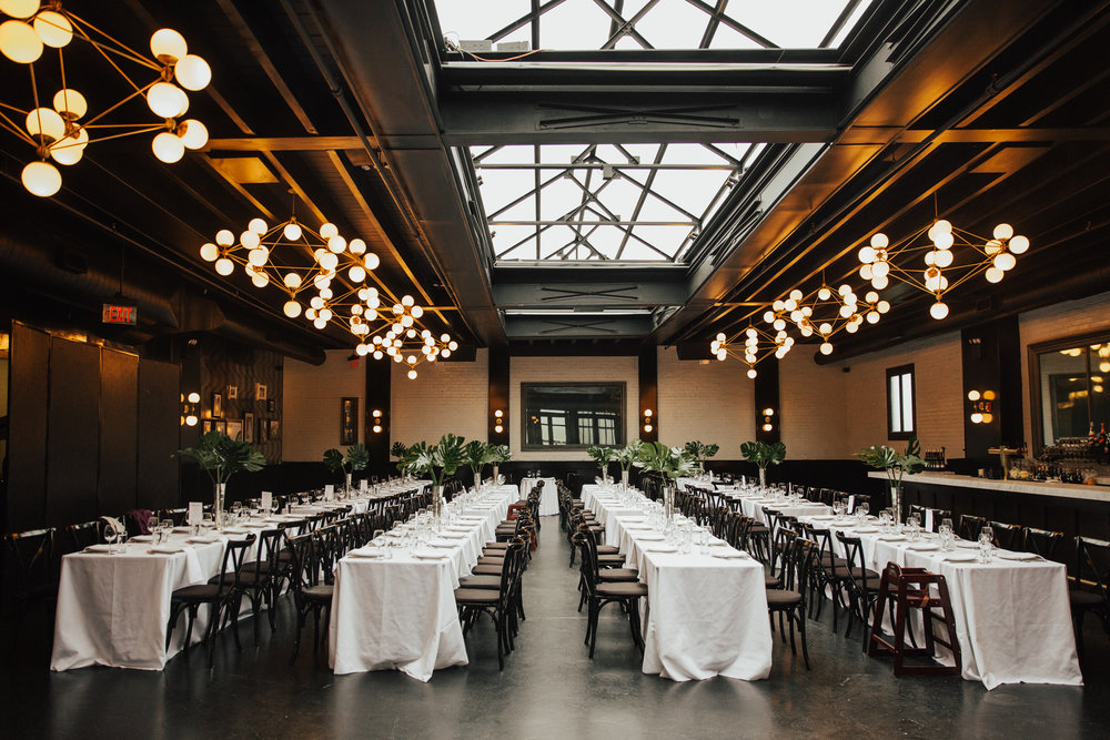 501 union minimalistic wedding